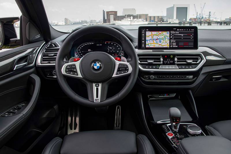 2022 BMW X4 M and X4 M Competition Interior - image 993905
