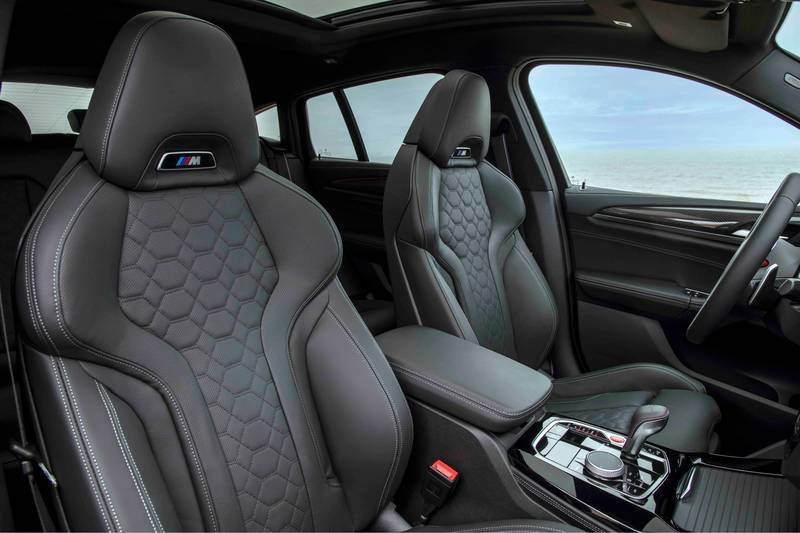 2022 BMW X4 M and X4 M Competition Interior - image 993910