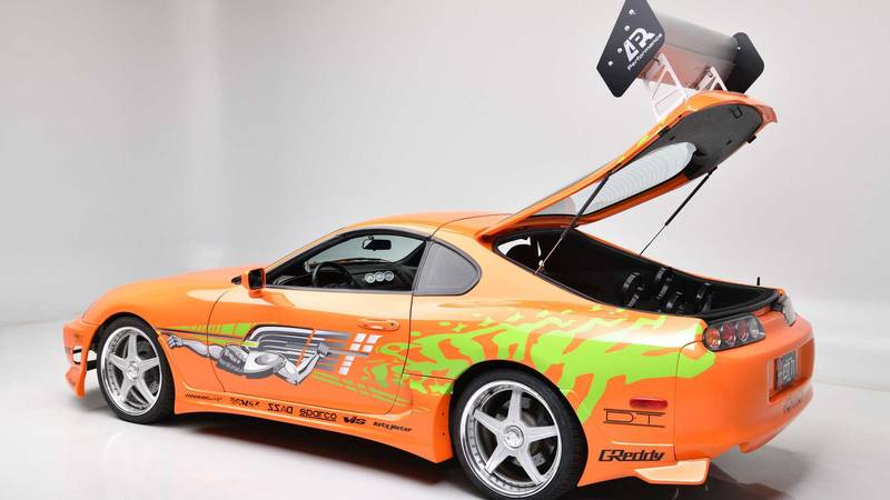 Paul Walkers Fast and Furious Supra Is Up For Auction Again - image 995796