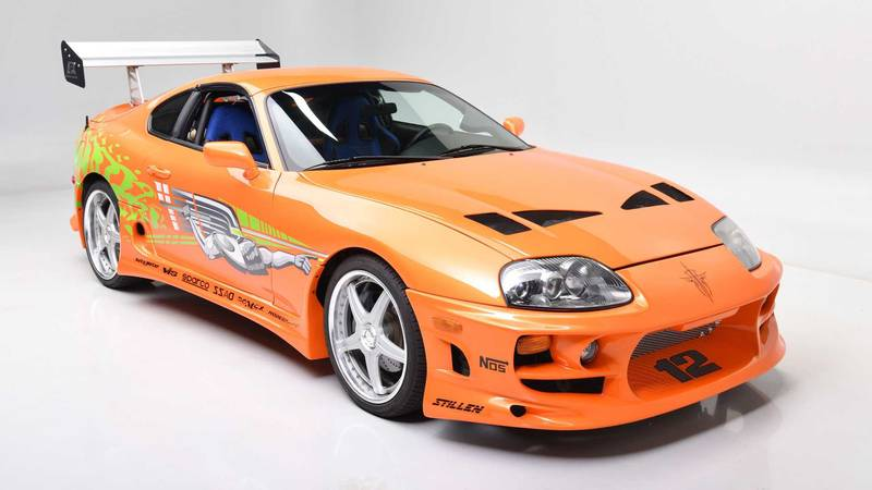 Paul Walkers Fast and Furious Supra Is Up For Auction Again - image 995794