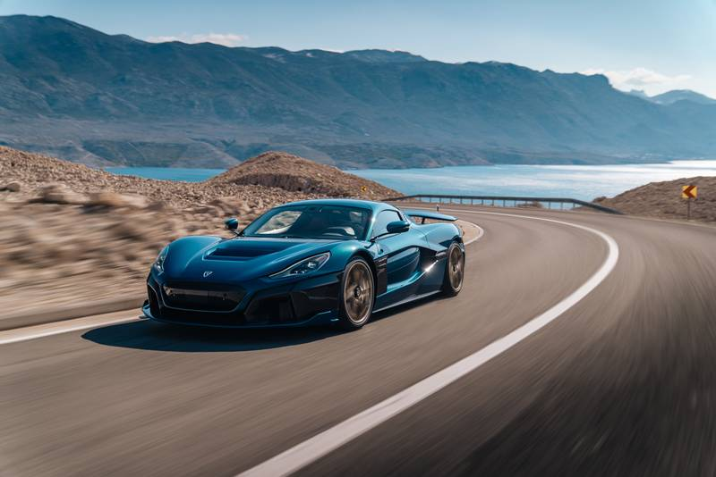 The Rimac Nevera Is a $2 Million Compact Hypercar With Aggressive Ambitions Exterior Wallpaper quality - image 992085