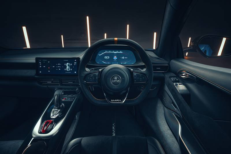 Lotus Has Revealed Specs Of The Flagship Emira V-6 First Edition Interior - image 999809