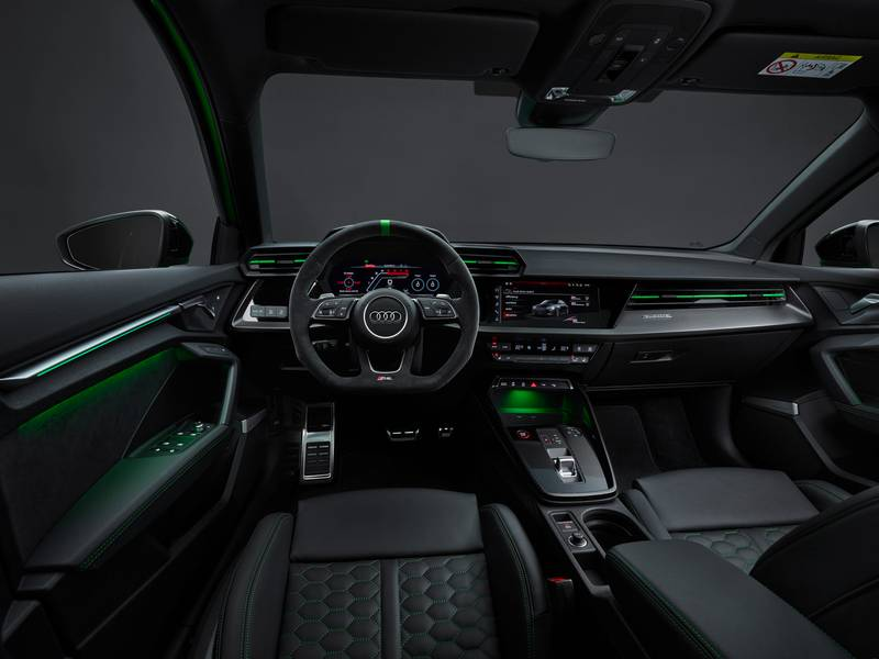 The 2022 Audi RS3 Is All Show and All Go With Aggressive Design and a 401-Horspeower Inline-Five Interior - image 1002943