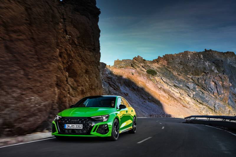 The 2022 Audi RS3 Is All Show and All Go With Aggressive Design and a 401-Horspeower Inline-Five Exterior Wallpaper quality - image 1002988