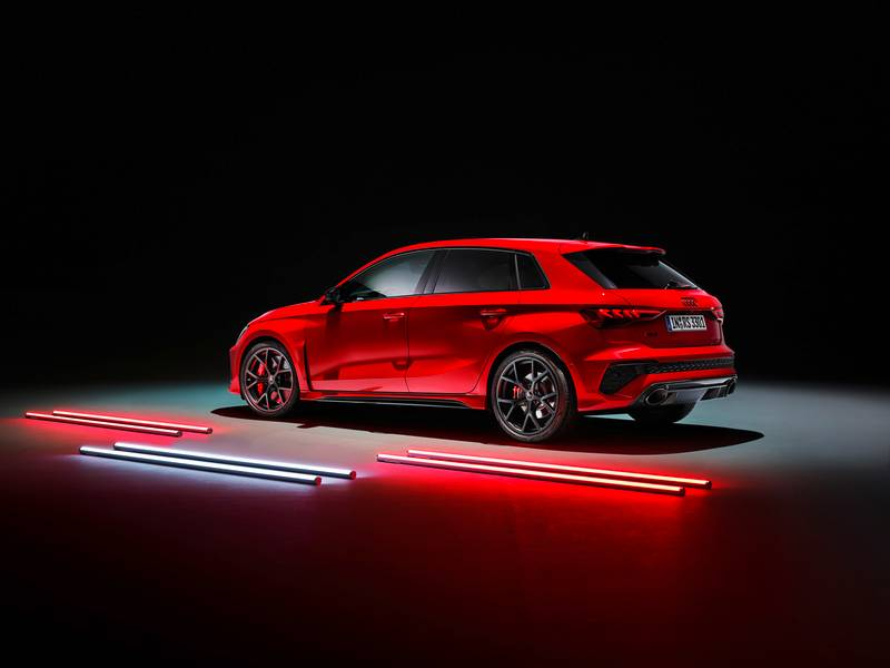 The 2022 Audi RS3 Is All Show and All Go With Aggressive Design and a 401-Horspeower Inline-Five Exterior - image 1002855