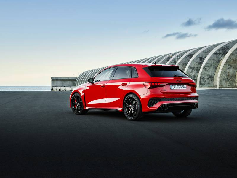 The 2022 Audi RS3 Is All Show and All Go With Aggressive Design and a 401-Horspeower Inline-Five Exterior - image 1002870