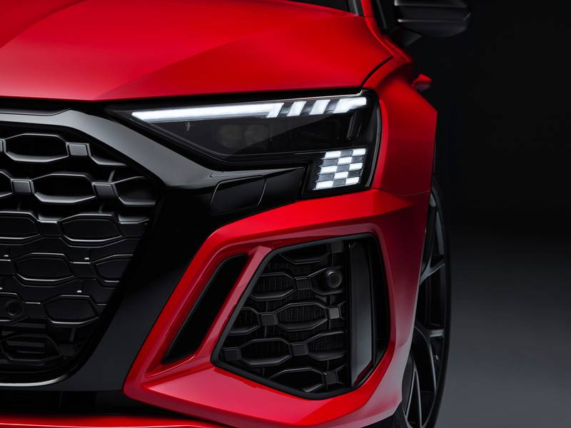 The 2022 Audi RS3 Is All Show and All Go With Aggressive Design and a 401-Horspeower Inline-Five Exterior - image 1002819