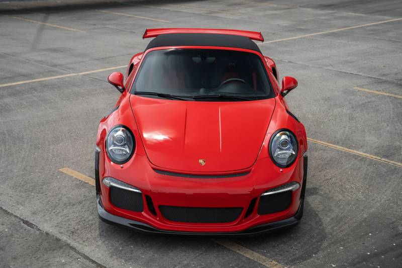 No, This Isn't a Porsche 911 GT3 RS Cabriolet, but it Sure Does Look Like It Exterior - image 999039