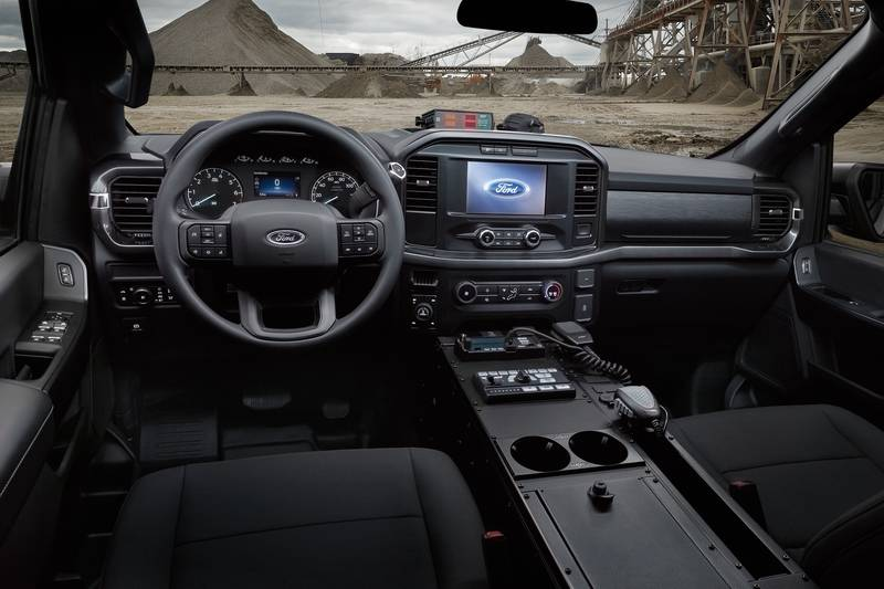 The Fastest Cop Car In America is Not a Car but a Ford Pick-Up Interior - image 998555