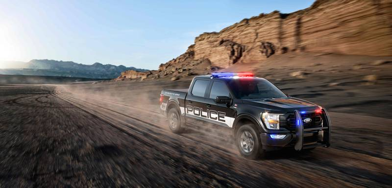 The Fastest Cop Car In America is Not a Car but a Ford Pick-Up Exterior - image 998558