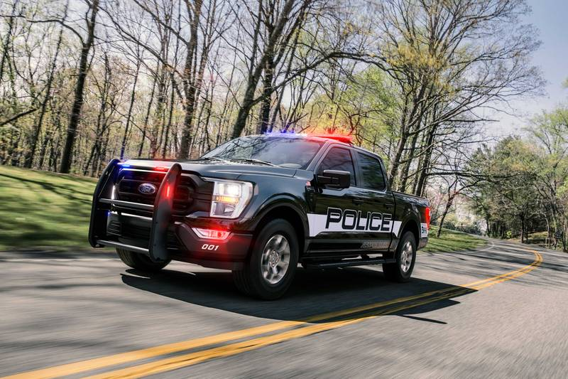 The Fastest Cop Car In America is Not a Car but a Ford Pick-Up Exterior - image 998559