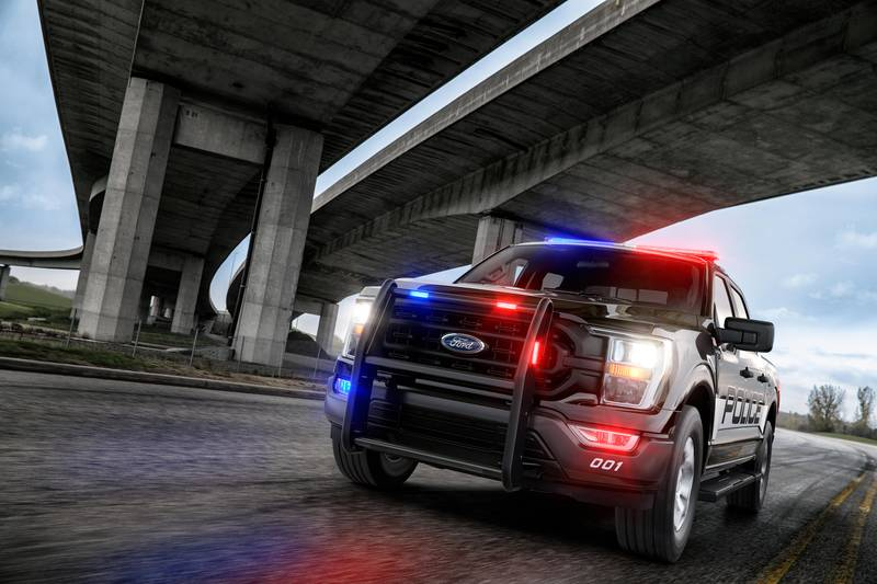 The Fastest Cop Car In America is Not a Car but a Ford Pick-Up Exterior - image 998560