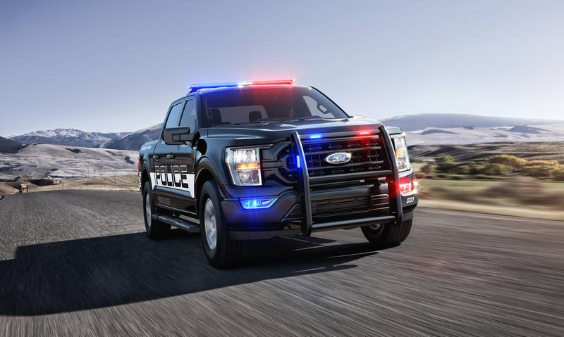 The Fastest Cop Car In America is Not a Car but a Ford Pick-Up Exterior - image 998570