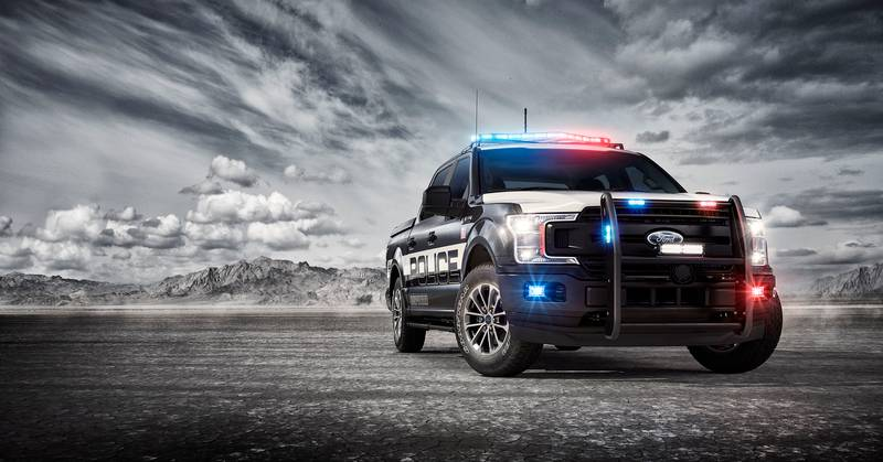 The Fastest Cop Car In America is Not a Car but a Ford Pick-Up Exterior - image 998554