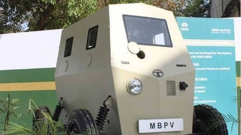 The Nano of Combat Vehicles? The MBPV from Tata - image 1003078