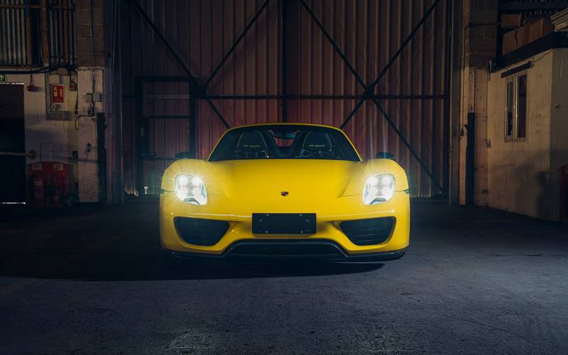 This Racing Yellow Porsche 918 Spyder Wouldn't Be A Bad Way To Spend $1.23 Million Exterior - image 998978