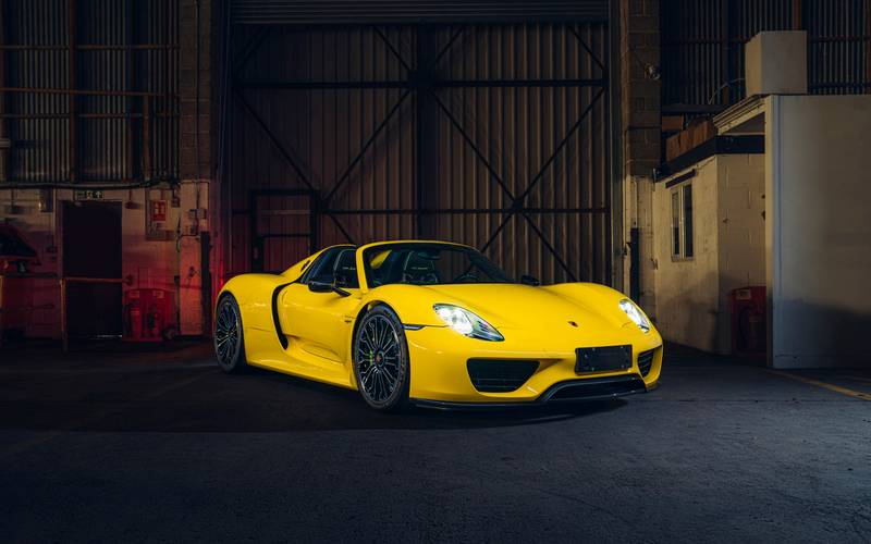 This Racing Yellow Porsche 918 Spyder Wouldn't Be A Bad Way To Spend $1.23 Million Exterior - image 998973