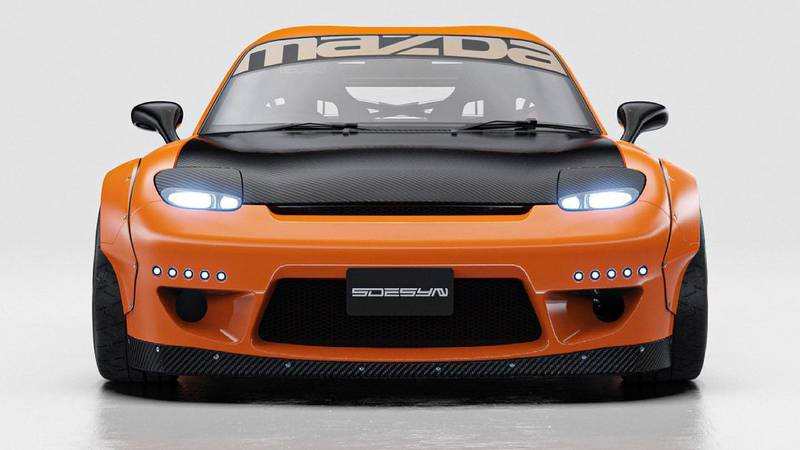 This Widebody RX-7 Rendering Will Give You Those Retrotastic 90s Vibes You've Been Missing - image 998826