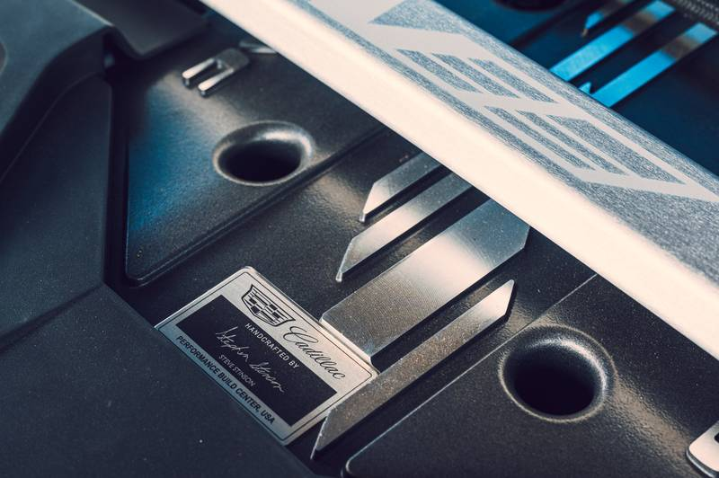 The Chevy Camaro's Last Stand May Involve Cadillac DNA and A Blackwing Heart Interior High Resolution - image 1008053