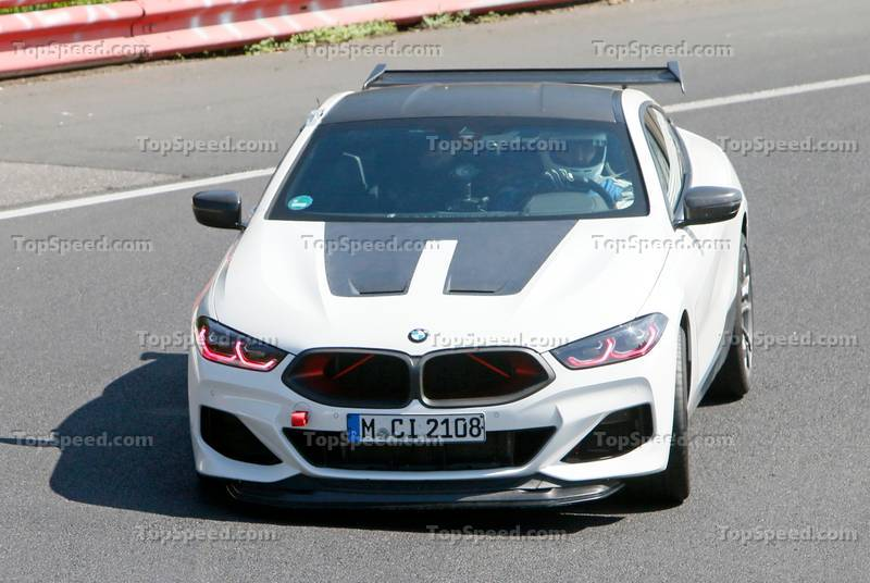 This Evil, Red-Eyed BMW Could Be The 2023 M8 CSL Exterior Spyshots - image 1010927