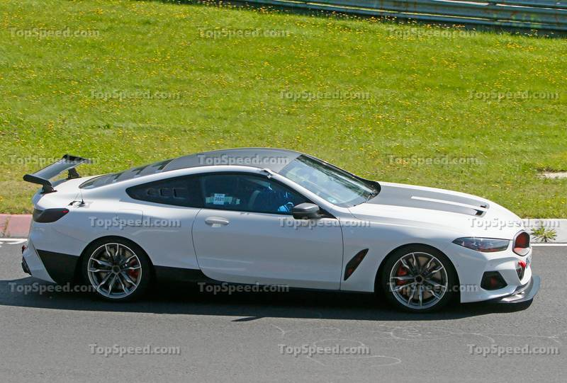 This Evil, Red-Eyed BMW Could Be The 2023 M8 CSL Exterior Spyshots - image 1010905