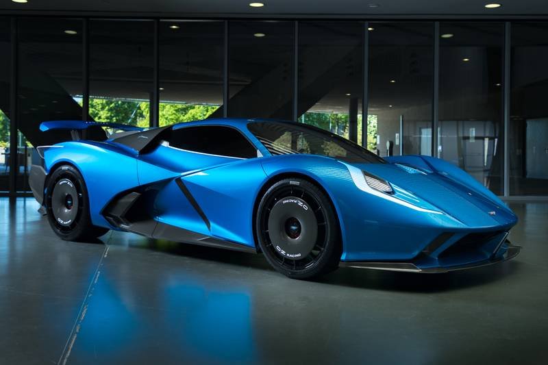 2024 Estrema Fulminea - An Italian Electric Hypercar That Will Give The Rimac Nevera A Tough Fight Exterior - image 1010909