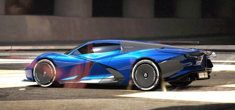 2024 Estrema Fulminea - An Italian Electric Hypercar That Will Give The Rimac Nevera A Tough Fight Exterior - image 1010842