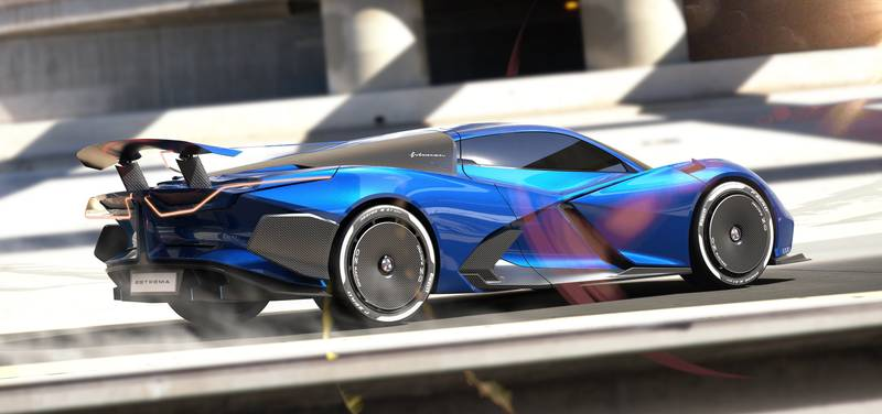 2024 Estrema Fulminea - An Italian Electric Hypercar That Will Give The Rimac Nevera A Tough Fight Exterior - image 1010836