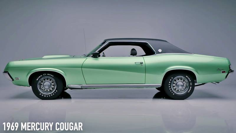 A 1 of 53 1969 Mercury Cougar Cobra Jet Heads to Auction at BARRETT-JACKSON - image 1012296