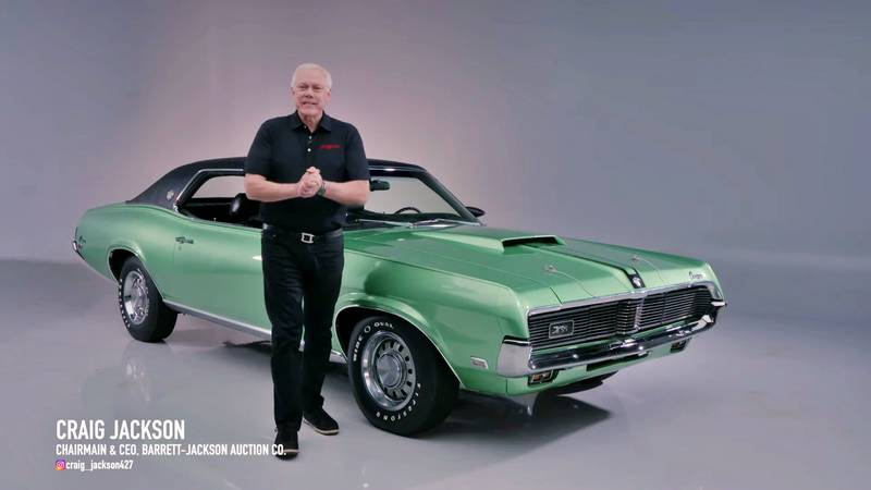 A 1 of 53 1969 Mercury Cougar Cobra Jet Heads to Auction at BARRETT-JACKSON - image 1012295