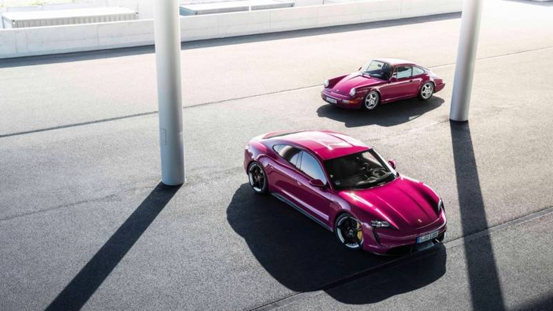 2022 Porsche Taycan Get Cool Color Options Still, Still Low On Gas - image 1011417