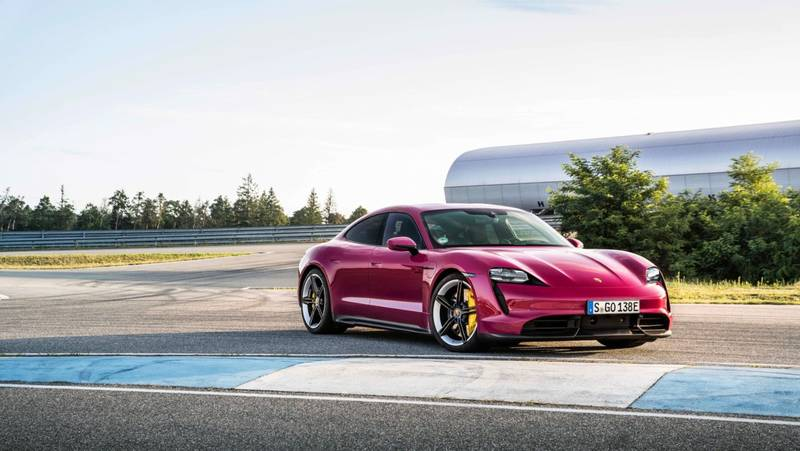 2022 Porsche Taycan Get Cool Color Options Still, Still Low On Gas - image 1011418