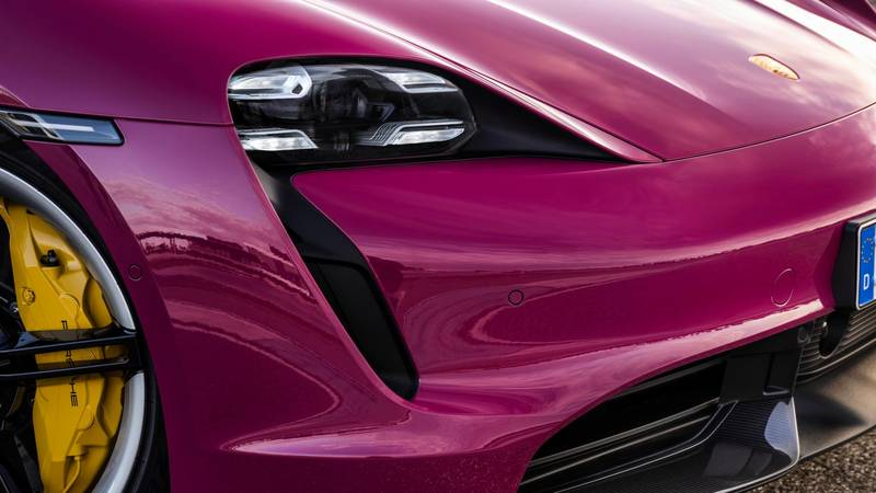 2022 Porsche Taycan Get Cool Color Options Still, Still Low On Gas - image 1011419