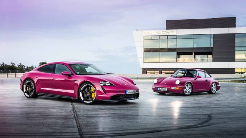2022 Porsche Taycan Get Cool Color Options Still, Still Low On Gas - image 1011416