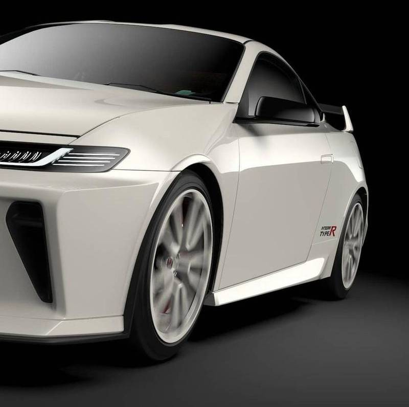 This Honda Integra Type-R Rendering Is Faithful To Both The Past And The Present - image 1008264