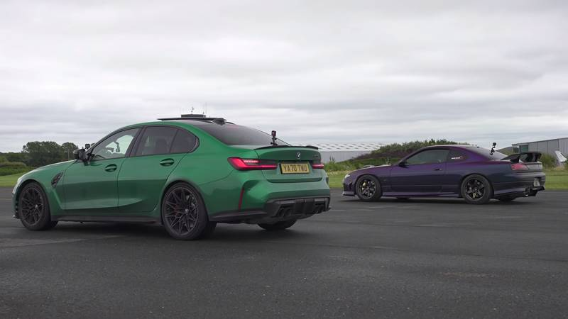 This Tuned Nissan Silvia Gets Schooled On The Drag Strip By A BMW M3 Only To Take Revenge Minutes Later - image 1012539