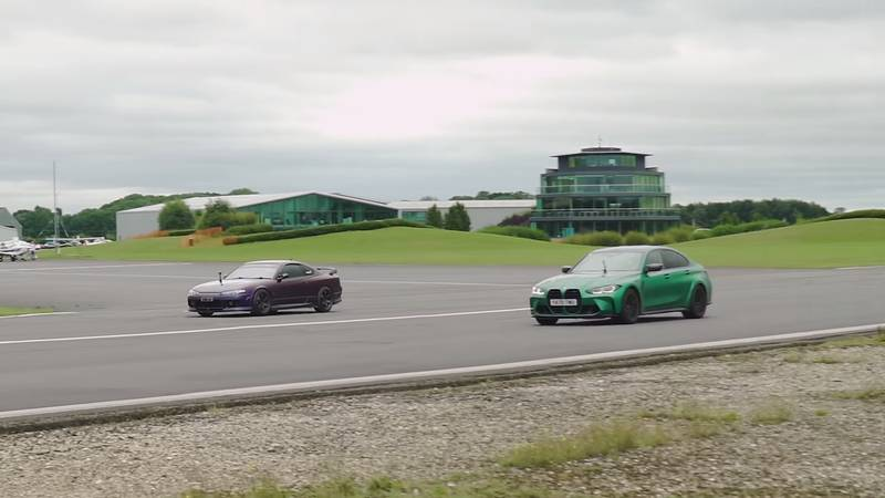 This Tuned Nissan Silvia Gets Schooled On The Drag Strip By A BMW M3 Only To Take Revenge Minutes Later - image 1012529