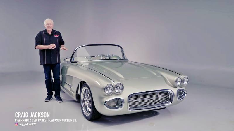 1962 Chevrolet Corvette Roadster with 700 miles comes up for sale at Barrett Jackson Exterior - image 1015598