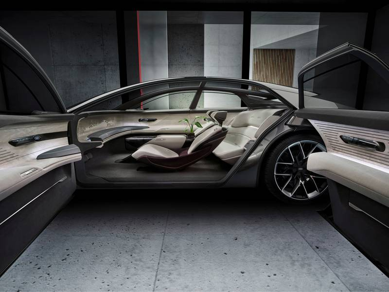 Audi Grandsphere Concept - A Luxurious EV That's A 'Private Jet For The Roads' High Resolution - image 1013955