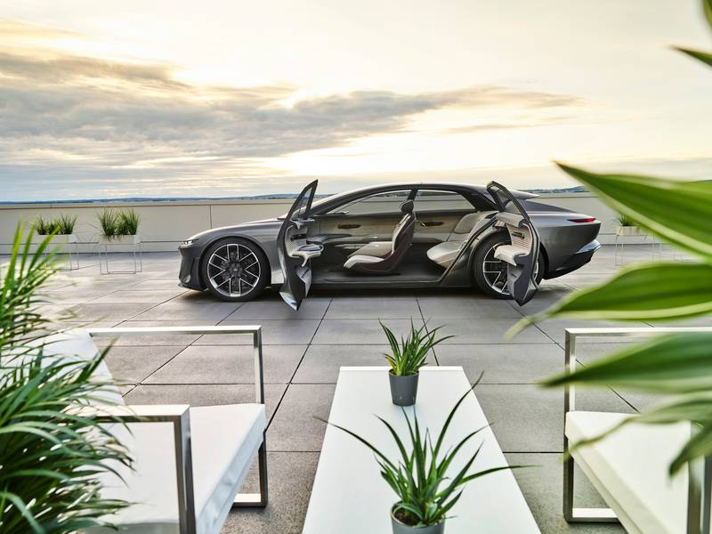 Audi Grandsphere Concept - A Luxurious EV That's A 'Private Jet For The Roads' High Resolution Exterior Interior - image 1013933