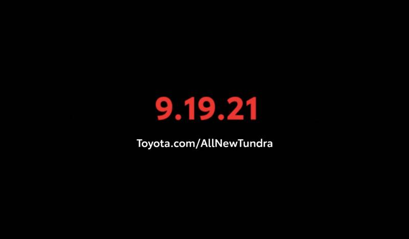 Brace Yourselves, The New Toyota Tundra Is Coming On September 19! - image 1017348