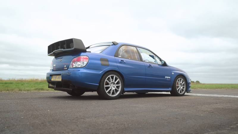 Can An Old-School Subaru Impreza WRX STI Hold A Candle To An Audi RS3 On The Drag Strip? - image 1015519