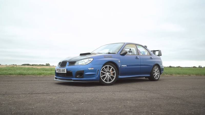 Can An Old-School Subaru Impreza WRX STI Hold A Candle To An Audi RS3 On The Drag Strip? - image 1015524