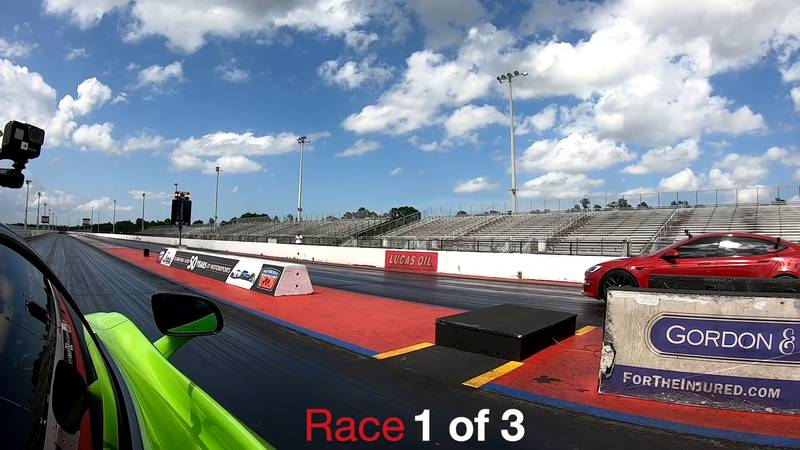 Can The McLaren 765 LT Score An Upset Victory Over The Tesla Model S Plaid On The Drag Strip? - image 1020194