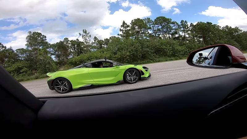 Can The McLaren 765 LT Score An Upset Victory Over The Tesla Model S Plaid On The Drag Strip? - image 1020182