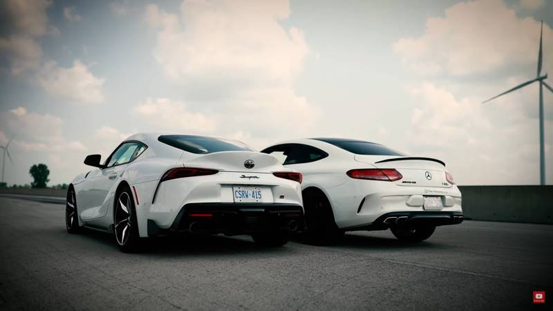 Can The Toyota GR Supra Shame The Mercedes-AMG C63 S In A Drag Race? - image 1019027
