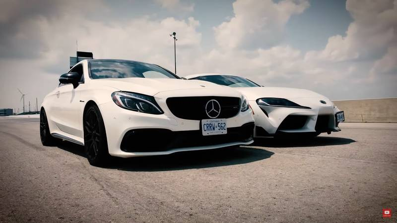 Can The Toyota GR Supra Shame The Mercedes-AMG C63 S In A Drag Race? - image 1019033