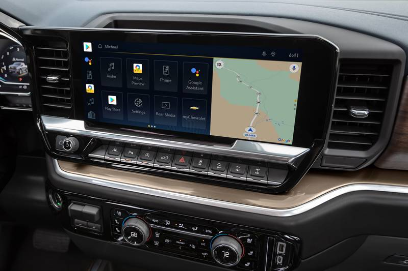 Meet the New Chevy Silverado ZR2 - A Truck That's Meant to Go Off-Road Interior - image 1016417