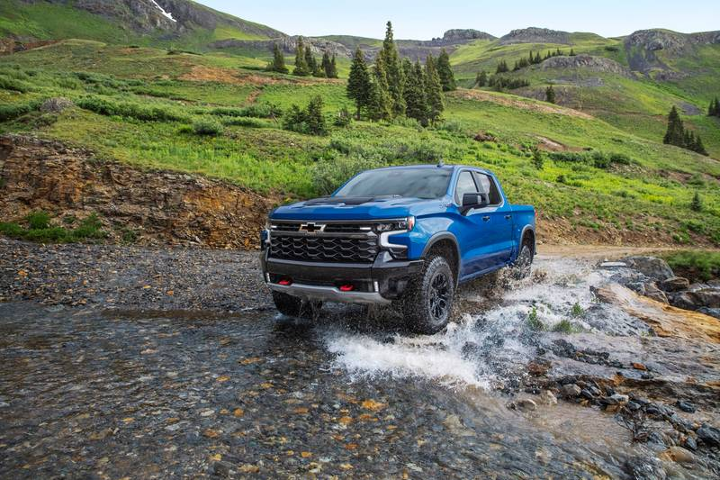 Meet the New Chevy Silverado ZR2 - A Truck That's Meant to Go Off-Road Exterior - image 1016422