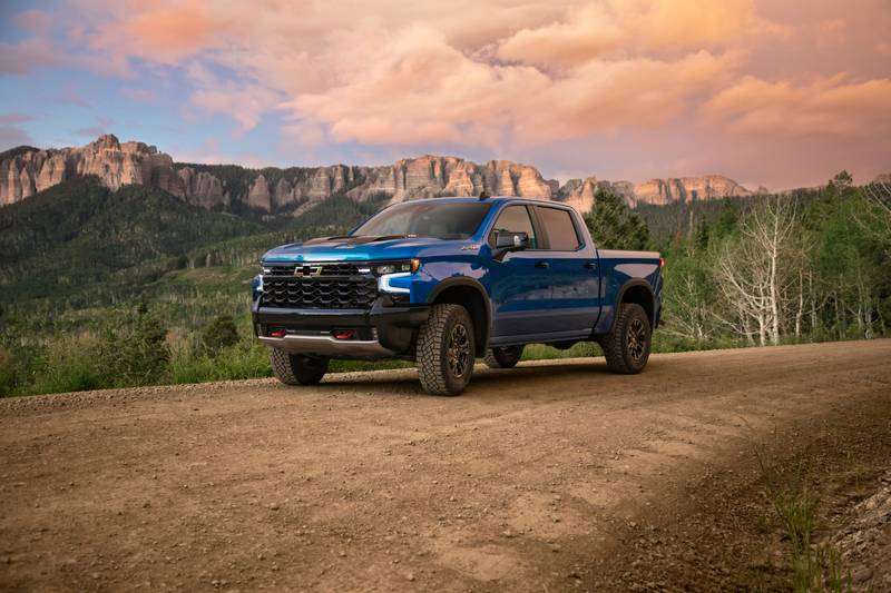 Meet the New Chevy Silverado ZR2 - A Truck That's Meant to Go Off-Road Exterior - image 1016423